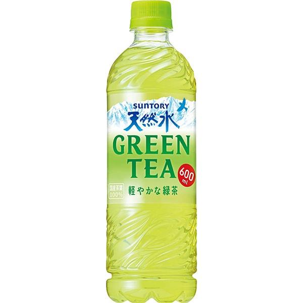 天然水GREEN TEA 600ml×24本