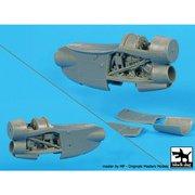 A48075 E-2C ホークアイ用エンジン(2個セット) [1/48 プラモデル]