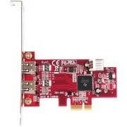 IEEE1394-PCIE2 [TI XIO2200搭載 IEEE1394a(OHCI)x2 ロープロファイル対応 インターフェースボード]