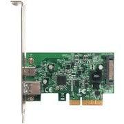 USB3.1AC-P2-PCIE3 [ASMedia社製 ASM3142チップ搭載 USB3.1 TypeA・TypeC LP対応 インターフェースボード]