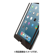TB-A19SFLGFBK [iPad mini 2019 ガラスフィルム 0.33mm フレーム付 液晶保護フィルム ブラック]