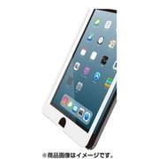 TB-A19SFLGFWH [iPad mini 2019 ガラスフィルム 0.33mm フレーム付 液晶保護フィルム ホワイト]