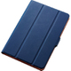 TB-A19SWVSMNV [iPad mini 2019/iPad mini 4 フラップカバー ソフトレザー 360度回転 スリープ対応 ネイビー]
