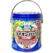 ライオン かとり線香 ジャンボ 50巻入 缶