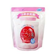 薬用入浴剤 ピンクのにごり湯 つめかえ用 モモの香り 540g