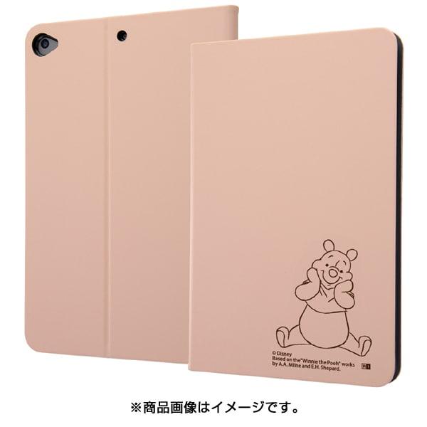 IJ-DPA12LCBE/PO043 [iPad mini 7.9インチ(2019年モデル) レザーケース ディズニー プー]