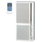 CWH-A1819 WS [ウインドエアコン 冷暖房兼用タイプ 単層100V 冷房:50Hz 4.5~7畳/60Hz 5~8畳 暖房:50Hz 4~5畳/60Hz 5~6畳 シェルホワイト]