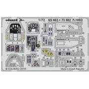 EDU73662 F-105D 内装エッチングパーツ トランぺッター用 [1/72 エッチングパーツ]