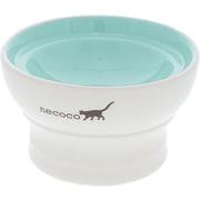 necoco 脚付き陶器食器 ウェットフード向き