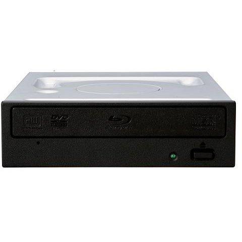 BDR-212BKE [Windows10対応 BD-R 16倍速書込み S-ATA接続  ブラックトレー仕様 BDXL非対応 RoHS指令対応 BD/DVD/CDライター バルク (色:ブラック) ソフト無し]