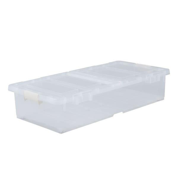ベッド下収納ボックス クリア