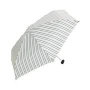 BE-01982 グリーン [折りたたみ傘 コンパクトポーチ マルチストライプ ミニ 婦人 雨晴兼用 UVカット 50cm]