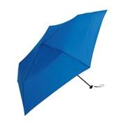 BE-02810 ブルー [折りたたみ傘 スーパーライト/プレーンカラー ミニ ユニセックス 軽量 無地 50cm]