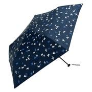 BE-09906 ネイビー [折りたたみ傘 PUスーパーライト/ツバメ ミニ 婦人 晴雨兼用 UVカット 軽量 50cm]