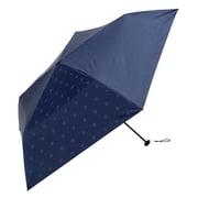 BE-09909 ネイビー [折りたたみ傘 PUスーパーライト/シャドースター ミニ 婦人 晴雨兼用 UVカット 軽量 50cm]
