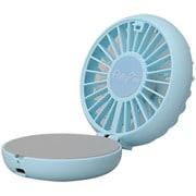 Puffy Fan  BL [充電式モバイルファン ブルー]