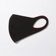 マスク Sサイズ DUAL BLACK×RED LOOKA DESIGN MASK 洗えるマスク 1枚入 C99D3-A048-S06T