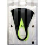 マスク Mサイズ DUAL STLIBLACK×LIMEGREEN LOOKA DESIGN MASK 洗えるマスク 1枚入 C99D3-A048-M01T
