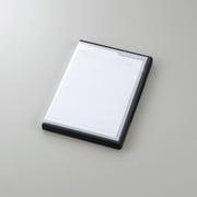 CMC-SDCDC01BK [SDカードケース/トールケースタイプ/SD36枚収納/インデックスカード/インデックスジャケット/ナンバリングシール/ブラック]