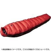 オーロラライト 450DX N14DRE01 RED (レッド) ショート [アウトドア ダウンシュラフ]