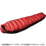 オーロラライト 750DX N17DRE01 RED (レッド) ショート [アウトドア ダウンシュラフ]