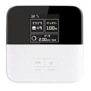 801ZT Pocket WiFi ホワイト [モバイルルーター]