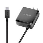 MPA-ACCP04BK [スマートフォン・タブレット用AC充電器 PD認証 パワーデリバリー認証 18W Type-Cケーブル一体型 1.5m ブラック]