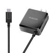 MPA-ACCP05BK [スマートフォン・タブレット用AC充電器 PD認証 パワーデリバリー認証 18W Type-Cケーブル一体型 2.5m ブラック]