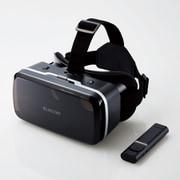 VRG-M01RBK [VRゴーグル スタンダード 目幅・ピント調節可能 DMMVRアプリ(iOS)対応Bluetoothリモコン付]