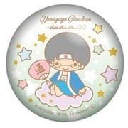 銀魂×サンリオキャラクターズ ぷにぷに缶バッジ 志村新八 [キャラクターグッズ]