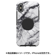 77-61766 [Otter + Pop Symmetry シリーズケース iPhone X/Xs用 White Marble]