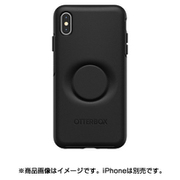 77-61741 [Otter + Pop Symmetry シリーズケース iPhone Xs Max用 Black]