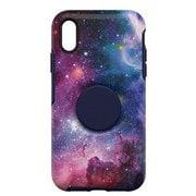 77-61726 [Otter + Pop Symmetry シリーズケース iPhone XR用 Blue Nebula]