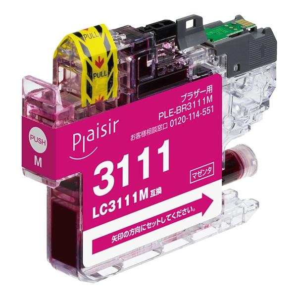 PLE-BR3111M [LC3111M互換インク]