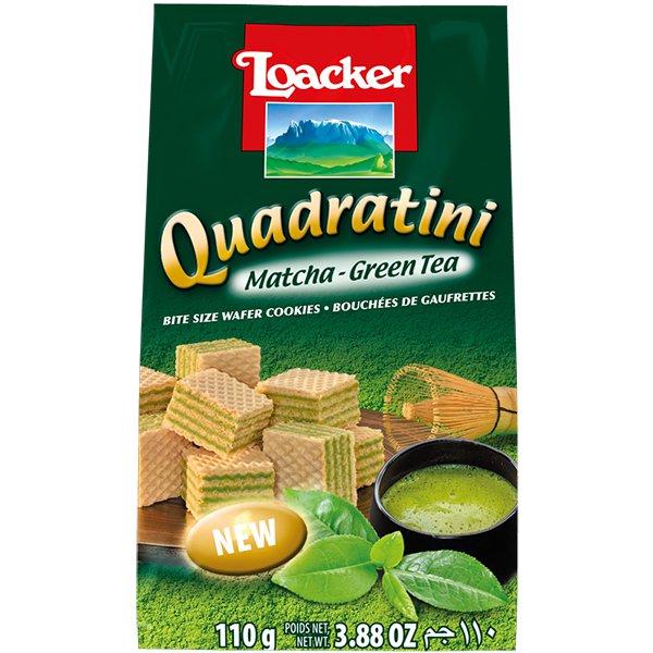 クワドラティーニ 抹茶