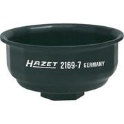 2169/7/1 [HAZET カップ式オイルフィルターレンチ14角 フィルター径64 差込12.7]