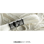 DMC アブローダー 107/20 BLANC 刺繍糸 [手芸用品]