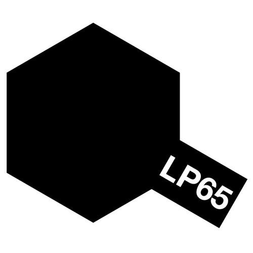 ラッカー塗料 LP-65 ラバーブラック [プラモデル用塗料]