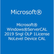 Windows Server CAL 2019 Sngl OLP 1License NoLevel DvcCAL [ライセンスソフト]