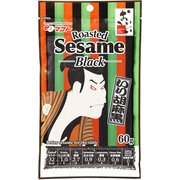 いり胡麻 黒 60g 浮世絵デザイン Roasted Sesame Black