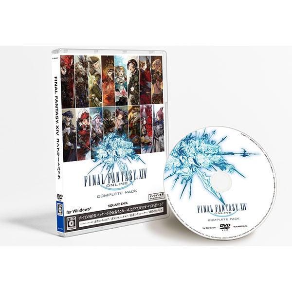 ファイナルファンタジーXIV コンプリートパック 新生エオルゼア~漆黒のヴィランズ [PCゲームソフト]