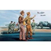 X-0748V USAAF 人員 [1/76スケール プラモデル]