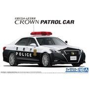 57520 ザ★モデルカーシリーズ トヨタ GRS214 クラウンパトロールカー 交通取締用 '16 [1/24 プラモデル]