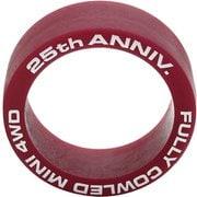 95116 フルカウルミニ四駆25周年記念 ローフリクションローハイトタイヤ 2本 マルーン [ミニ四駆 限定品]