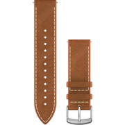 010-12691-1A [Quick Release バンド 20mm Tan Italian Silver Leather]
