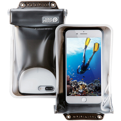 PCWPSF03BK [スマートフォン用防水・防塵ケース 水没防止タイプ XLサイズ ブラック]