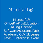 Office Pro Plus Edu ALNG LicSAPk OLV E 1Y Acdmc Ent [ライセンスソフト]
