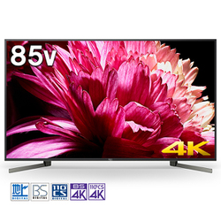 KJ-85X9500G [BRAVIA(ブラビア) X9500Gシリーズ 85V型 地上・BS・110度CSデジタル液晶テレビ 4K対応/4Kダブルチューナー内蔵]