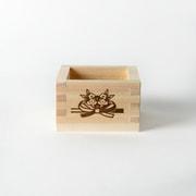 縁起枡 松竹梅×鯛