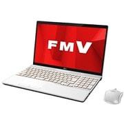 FMVA55D1WC [ノートパソコン LIFEBOOK AHシリーズ/15.6型ワイド/Corei7-8565U/メモリ 8GB/SSD 256GB/Blu-rayドライブ/Windows 10 Home 64ビット/Office Home and Business 2019/プレミアムホワイト/ヨドバシカメラオリジナルモデル]